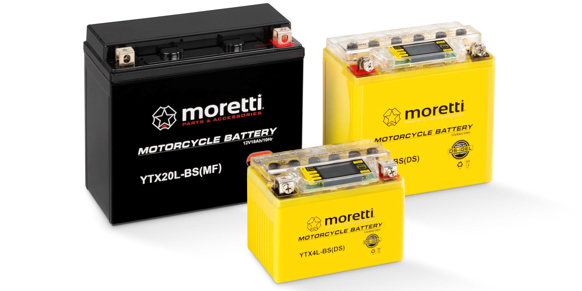 Moretti Parts - akumulatory Moretti