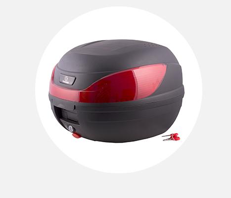 Kufer Moretti MR-866, czerwony odblask