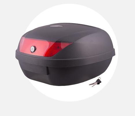 Kufer Moretti MR-888, czerwony odblask